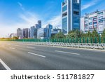 empty asphalt road through... | Shutterstock . vector #511781827