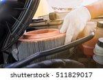 Auto Mechanic Wearing...