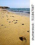 coastline lanzarote  in spain... | Shutterstock . vector #511867087