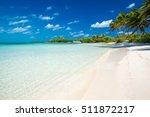 beautiful beach and tropical sea | Shutterstock . vector #511872217