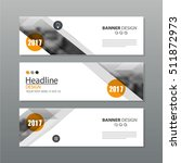 banner business layout template ... | Shutterstock .eps vector #511872973