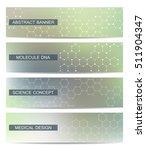 set of modern scientific...   Shutterstock .eps vector #511904347