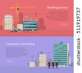 building process. completion of ... | Shutterstock .eps vector #511919737