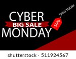 cyber monday sales web elements ... | Shutterstock .eps vector #511924567