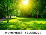 sunrise in summer beautiful... | Shutterstock . vector #512008273