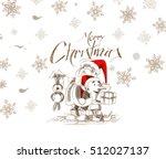 merry christmas  cartoon style...