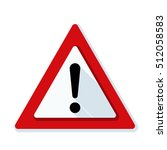 exclamation risk sign | Shutterstock .eps vector #512058583