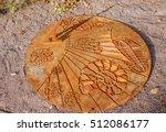 Rusty Iron Sundial.