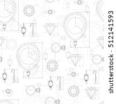 jewelry production sketch... | Shutterstock . vector #512141593