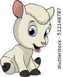 little funny lamb   Shutterstock .eps vector #512148787
