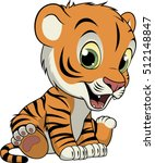 Little Funny Tiger