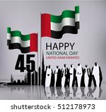 united arab emirates national... | Shutterstock .eps vector #512178973