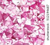 purple break mosaic background  ... | Shutterstock .eps vector #512194687