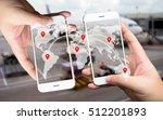 two businessman hands holding...   Shutterstock . vector #512201893