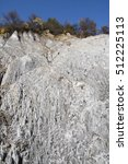 salt outcrop in transylvania ...   Shutterstock . vector #512225113