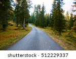 mountain road  in the mountains ... | Shutterstock . vector #512229337