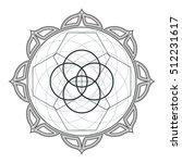 contour monochrome design... | Shutterstock . vector #512231617