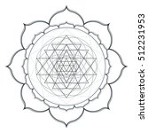 contour monochrome design... | Shutterstock . vector #512231953