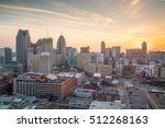 aerial view of downtown detroit ...   Shutterstock . vector #512268163