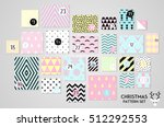 abstract pink  blue and yellow... | Shutterstock .eps vector #512292553