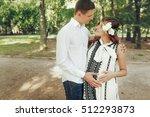 responsible husband hugging...   Shutterstock . vector #512293873