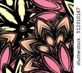 floral background. full...   Shutterstock .eps vector #512310187