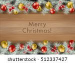 elegant christmas background... | Shutterstock .eps vector #512337427