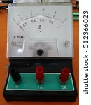 Small photo of ammeter
