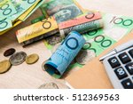 money  australian dollars  aud  ... | Shutterstock . vector #512369563