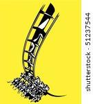 roller coaster | Shutterstock .eps vector #51237544