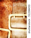 Leather Belts Grunge Background