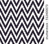 seamless ikat chevron pattern | Shutterstock .eps vector #512400073