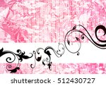 floral background | Shutterstock . vector #512430727