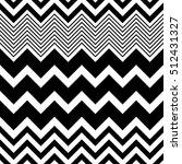 seamless zigzag pattern.... | Shutterstock .eps vector #512431327