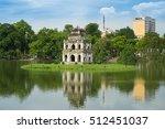 hoan kiem lake  sword lake  ho... | Shutterstock . vector #512451037