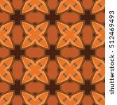 the geometric texture. boho... | Shutterstock .eps vector #512469493
