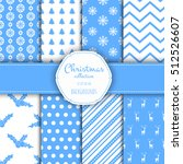 collection of seamless patterns ...   Shutterstock .eps vector #512526607