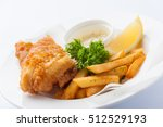 traditional british style fish... | Shutterstock . vector #512529193