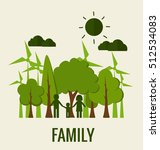 eco friendly. ecology concept... | Shutterstock .eps vector #512534083