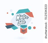 winter sale banner | Shutterstock .eps vector #512534323