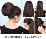 Hairstyle Tutorial Volume Bun...