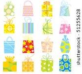 gift set | Shutterstock . vector #51255628