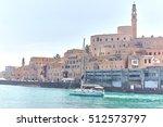 jaffa city sea view | Shutterstock . vector #512573797