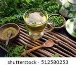 moringa oleifera tea . healthy
