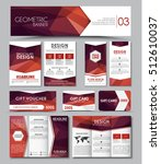 set of banners  brochures ... | Shutterstock .eps vector #512610037