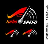 speed logo design  turbo speed... | Shutterstock .eps vector #512650633