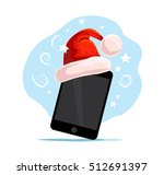 vector flat happy new year and... | Shutterstock .eps vector #512691397