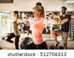 healthy young athletes... | Shutterstock . vector #512706313