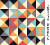 geometric seamless pattern with ...   Shutterstock .eps vector #512732053