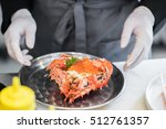 Small photo of steamed Alaska crab